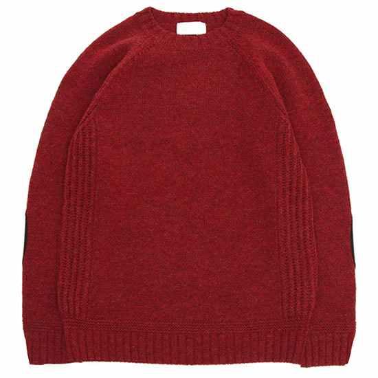 soglia ソリア|LANDNOAH Sweater (レッド)(ランドノアセーター)