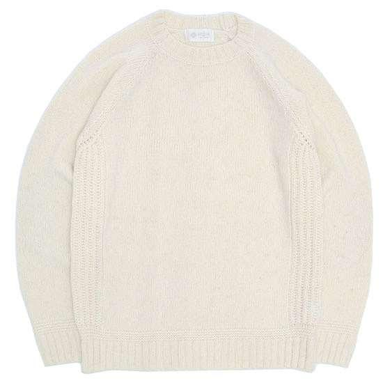 soglia ソリア LANDNOAH Sweater (ホワイト)(ランドノアセーター)