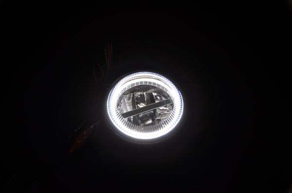 [Ver.2] MH34S Wagon R Stingray High Power LED Fog Lights 3D Light Ring  Equipped With OSRAM Made High Intensity LEDs 28 W Equivalent 0824 Rakuten  Card ...
