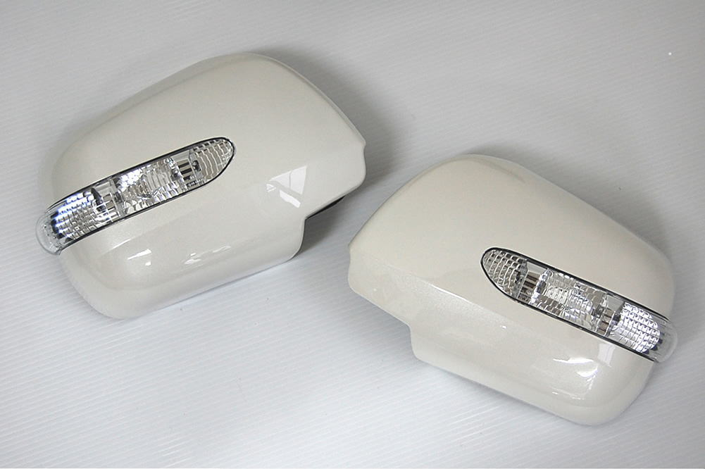 【Revier(レヴィーア)】60系前期(AZR60系)ノア、ヴォクシー LEDウインカードアミラーカバー 純正色塗装済み!