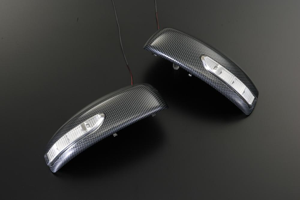 【Revier(レヴィーア)】「純正色塗装済み」日産(NISSAN) V36 スカイラインセダン LEDウインカードアミラーカバー 純正交換タイプ2 //ウィンカー/サイド/ニッサン/ターン/コーナー/SKYLINE/QX1/KH3/K23/カーボン
