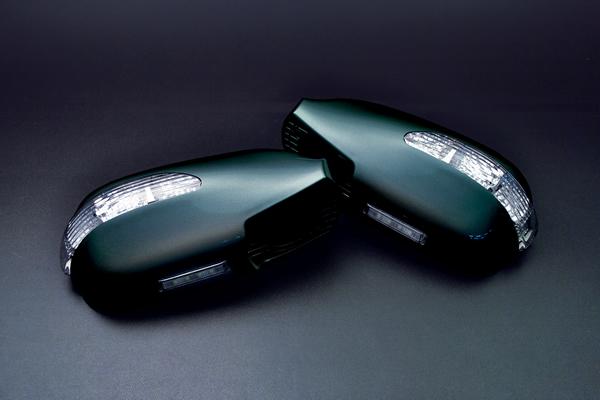 【Revier(レヴィーア)】100系チェイサー(JZX100) LEDウインカードアミラーウェルカムランプ付純正色塗装済み! 6NQ/040/051/057/1C0/199 //LEDウインカーミラー/フットランプ LEDドアミラー/LEDミラーウインカー