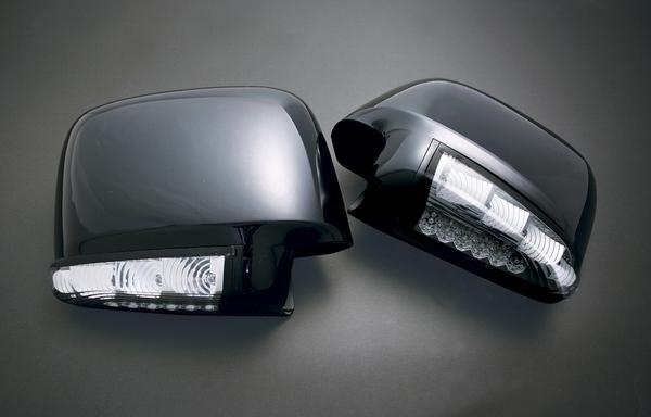 【Revier(レヴィーア)】ステップワゴンRF3~8 LEDウインカードアミラーウェルカムランプ付 純正色塗装済みB92P/NH624P/NH636P/NH623M/YR537P/メッキ