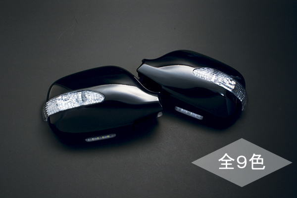 【Revier(レヴィーア)】ファンカーゴ LEDウインカードアミラーウェルカムランプ付純正色塗装済み! 202/209/068/040/064/1D2/メッキ 【gue5t65】【kzxeu7t】