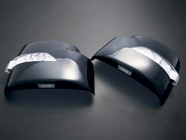 【REIZ(ライツ)】「塗装済み」エブリイワゴン(DA64W)/エブリイバン(DA64V)/同型スクラム LEDウインカードアミラー カバー交換タイプ フットランプ付き //SUZUKI/スズキ/汎用/ウィンカー/サイド/EVERY/エブリー/エブリィ/エヴリ/DG64/JIMNY/sierra