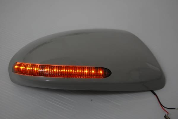 馬自達GH派atenza LED方向指示燈門鏡覆蓋物純正交換型!煙透鏡鍍鉻