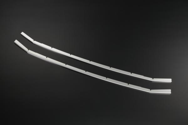 80 系列 Voxy ZS 前保险杠格栅鳍盖镜面不锈钢完成 1 p 诺亚/VOXY/前面/航空