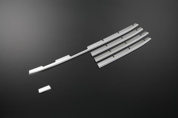 【REIZ(ライツ)】MH34 ワゴンR 前期 鏡面ステンレス製 フロントバンパーグリルトリム 5P //フロント/グリルカバー/FOG