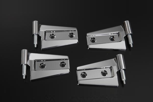 Plating Billet Door Hinge Exchange Expression Custom /Wrangler/JK38S/JK36S/  Plating Parts / Chrome For The Wrangler Two Door Of Jeep (JEEP) JK Origin