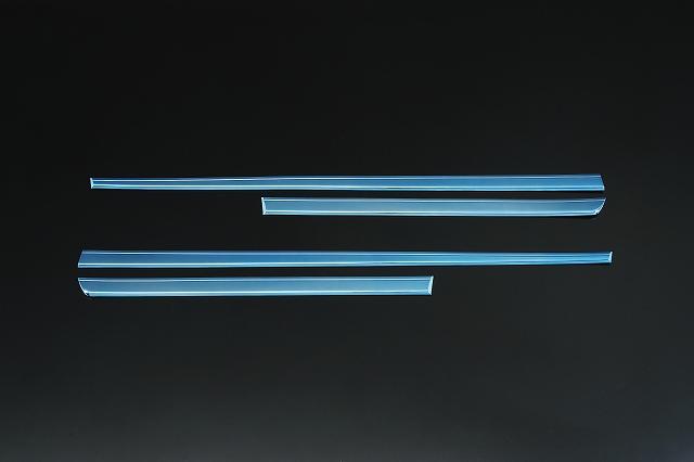 【Revier(レヴィーア)】30系プリウス アクアブルーメッキサイドガーニッシュ サイドモールディング