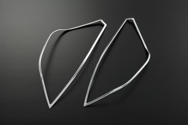 【Revier(レヴィーア)】アクア(NHP10) / prius C テールライトリング メッキリム //AQUA/プリウス