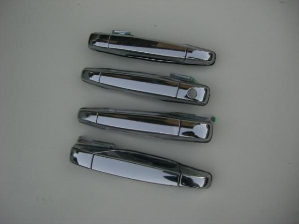キャデラックエスカレード('07~) メッキアウタードアハンドル 5DR用純正交換タイプ