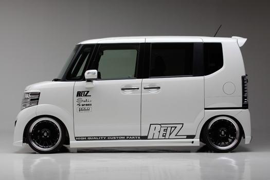 【REIZ(ライツ)】N-BOXカスタム/N-BOX+カスタム(JF1/JF2) サイドステップ左右 FRP製 //エヌ/n-box/n