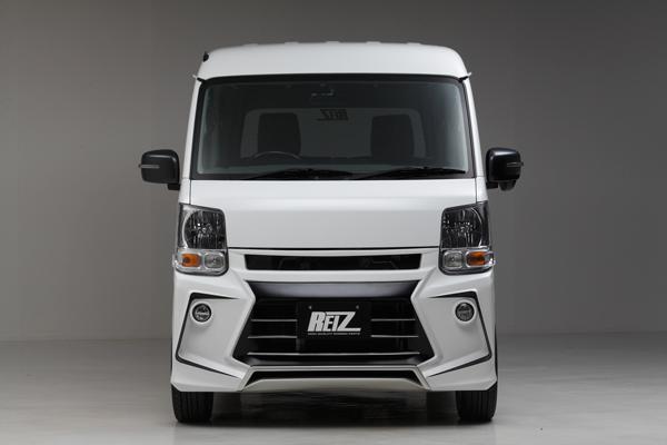 【REIZ(ライツ)】DA17V エブリイバン フロントバンパースポイラー(未塗装) //エヴリ/EVERY/エブリ/イ/-/ィ