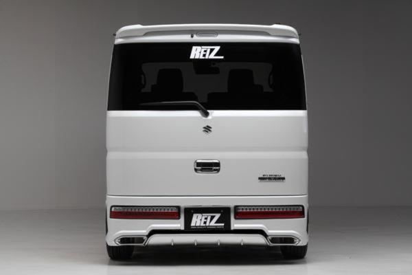 【REIZ(ライツ)】DA17W エブリイワゴン リアバンパースポイラー(未塗装) //エヴリ/EVERY/エブリ/イ/-/ィ