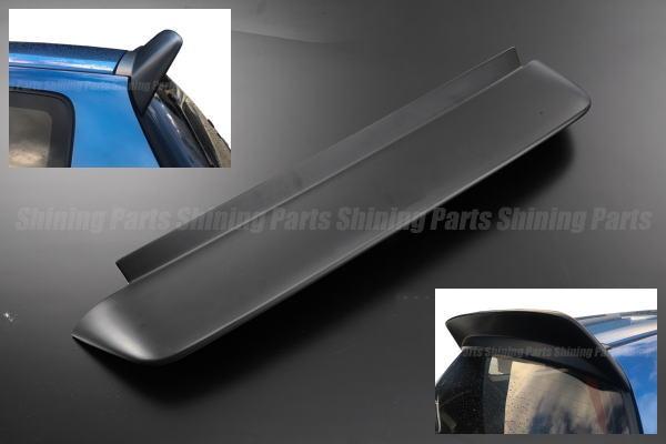 EG系シビック(EG3/EG4/EG6) ハッチバック専用リアルーフスポイラー [未塗装] ABS製 //Civic/HONDA/ホンダ/リアバイザー/ウイング/スポーツシビック/エアロパーツ/EGシビック/CIVIC/SIR