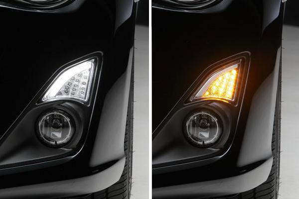 【Revier(レヴィーア)】トヨタ 86 (ZN6)前期 LED 3Dライトバー付 LEDフロントウィンカーレンズ //ハチロク/ウインカー