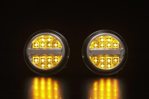 【Revier(レヴィーア)】「全2色」NHP10アクアG's / 30プリウス G's LEDフロントウインカー //ライト/汎用/ランプ/ウィンカー/AQUA/PRIUS/ZVW/10系/30系/コーナー/ターン