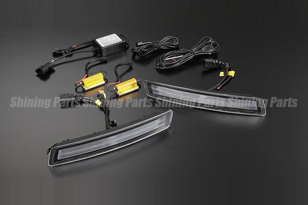 フォルクスワーゲン「全2色」ニュービートル 後期 LEDフロントコーナーランプ デイライト付 //ウインカー/ウィンカー/ターン/VW/DAY/Light/Volkswagen/DRL/NEW/BEETLE/ポジション