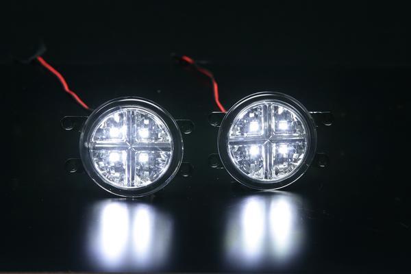 【Revier(レヴィーア)】50系 RAV4/RAV4ハイブリッド LEDフォグランプ 左右セット //デイライト/フォグライト/デイランプ/ラブフォー/ラブ4