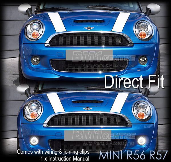 Fog Light Right And Left Set Mini Cooper S 第 Lamp Clubman Country Man Pace One Roadster Balkan Cuttlefish Ring
