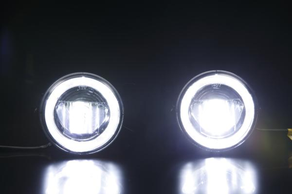 VW GOLF5 ハイパワー LEDフォグランプ(デイライト機能付) 純正交換型 10W CREE //ゴルフ