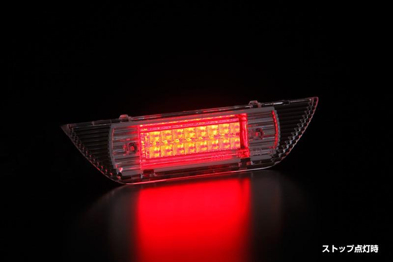 【REIZ(ライツ)】【Ver.3】JB23W ジムニー/HE21S ラパン LEDハイマウントストップランプ //テール/リア/バック/ブレーキ/ライト/クリア/SUZUKI/スズキ/汎用/jimny/ALTO/Lapin/アルトラパン/アルト