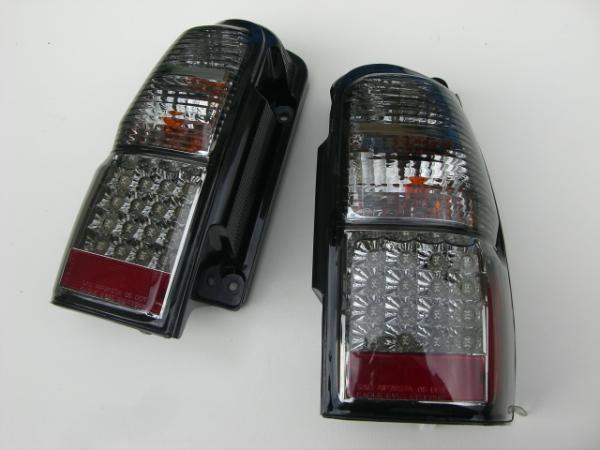 「全2色」185系ハイラックスサーフ LEDテールランプ //リア/ライト/TOYOTA/トヨタ/Hilux/Surf/レンズ/スモーク/クリア/レッド