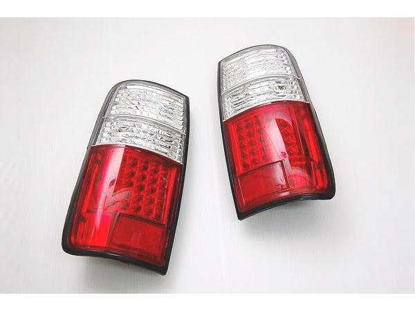 「レッドクリア」ランドクルーザー80 LEDテールランプ //ランクル/80/80系/landcruiser/リア/ライト/ウインカー/ウィンカー/ブレーキ/スモール/ポジション/リフレクター/反射板