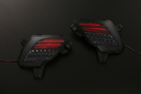 Smoked lens KE series CX-5 LED rear bumper light W features LED reflector reflection plate / tail