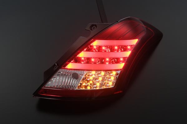 ZC32S 雨燕运动专用光纤 LED 尾灯光冬季也 LED