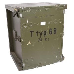 ドイツ軍放出品 ミリタリーボックス 電信機ボックス ODグリーン ドイツ連邦軍 ストレージボックス アモカン 軍払下げ品 軍払い下げ品