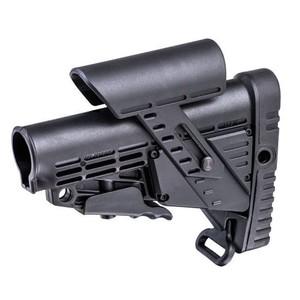 CAAタクティカル 実物 バットストック CBSCP チークピース搭載 AR15/M4対応 [ ブラック ] CAATactical 銃床 リトラクタブルストック スライドストック M4ストック 実銃パーツ チークレスト チークパッド AR-15