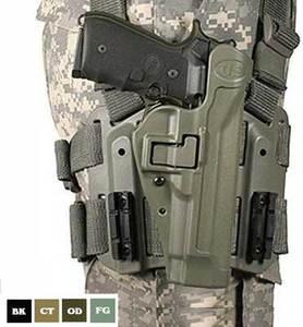 Leg hole star of BlackHawk SERPA LV2 GLOCK 20 black Glock2021S&WM&P 45  right-handed 430513 BK-R | Sherpa Sihl star thigh thigh Blackhawk BHI Smith  &
