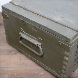 Military accessories military box wooden Czech military army surplus military surplus storage box aminission box Interior bedding military outdoor hobby ... & Outdoor imported goods Repmart | Rakuten Global Market: Military ...