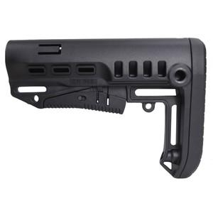 DLG Tactical バットストック TBSコンパクト AR15対応 コマーシャル [ ブラック ] TACTICAL 商用グレード 銃床 リトラクタブル アジャスタブル ガンパーツ トイガン カスタマイズ カスタムパーツ