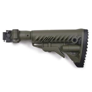 FABディフェンス 実物 M4-AKS P バットストックキット AKS-74U用 [ オリーブドラブ ] FABDEFENSE ファブディフェンス 銃床 クリンコフ用 折りたたみ式