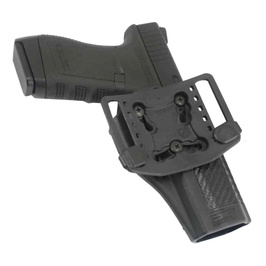 BlackHawk CQC Serpa Holster CF GLOCK 20 [left-handed] Glock2021S&WM&P.45 left handed black 410013 BK-L Glock Serpa Sherpa Blackhawk Smith & Wesson Smith & Wesson toys hobby equipment ( clothing shoes accessory goggles )