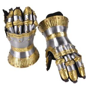 クールブルグ式ガントレット 甲冑籠手 中世防具 革手袋付 ゲットドレスフォーバトル GET DRESSED FOR BATTLE 防護