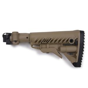 FABディフェンス 実物 M4-AKS P バットストックキット AKS-74U用 [ タン ] FABDEFENSE ファブディフェンス 銃床 クリンコフ用 折りたたみ式