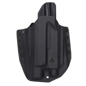 Direct Action 実物 ヒップホルスター Glock17 ライト対応 右用 [ ブラック ] グロック カイデックス サバゲー 装備品 ピストルホルスター