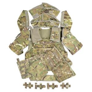 イギリス軍放出品 オスプレイ MK4A ボディアーマーセット MTP迷彩 [ 170/100 ] OSPREY MK4A型 プレートキャリア ソフトボディアーマーセット サバゲ― 装備品