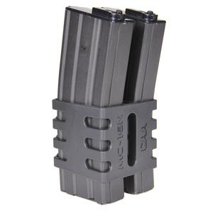 CAA 戰術雜誌剪輯 2 安裝 M4/M16 標準電動槍雜誌雙手槍 W 案例手槍 mag 雜誌雙雜誌個案