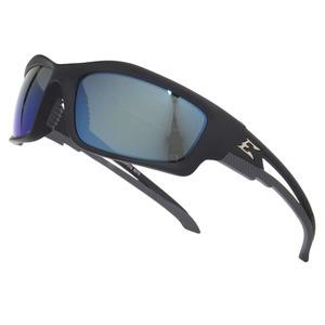 レンズにポリカーボネイトを使用したエッジのUVカットサングラス 高額売筋 EDGE 偏光サングラス KAZBEK ブルーミラー アイウェア メンズ スポーツ 紫外線カット UVカット グラサン 偏光メガネ 一部予約 偏光グラス ポラライズドサングラス 曇り止め ドライブ ツーリング フィッシング 釣り 運転 バイク