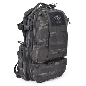TRU-SPEC バックパック CIRCADIAN [ マルチカモブラック ] TRUSPEC トゥルースペック リュックサック ナップザック デイパック カバン かばん 鞄 ミリタリー ミリタリーグッズ サバゲー装備