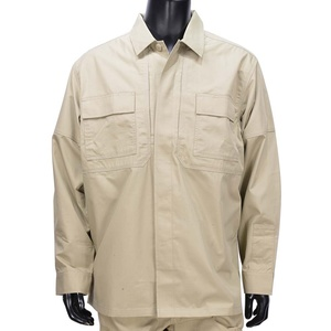 5.11タクティカル TDUシャツ 長袖 リップストップ 72002 [ カーキ / Mサイズ ] 511 5.11Tactical ミリタリーシャツ 長袖シャツ ロングTシャツ アーミーシャツ アサルトシャツ