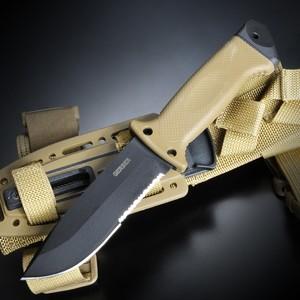 GERBER アウトドアナイフ 1463 インファントリー LMFII シース 半波刃 | 登山 魚釣り フィッシングキャンプアウトドア狩猟 サバイバル