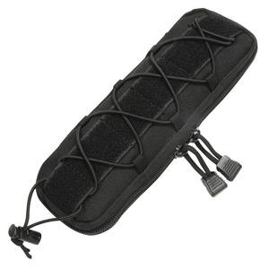 ナイフを安全に収納できるMOLLE対応ポーチ ナイフポーチ モールシステム対応 ナイロン製 [ Lサイズ / ブラック ] ナイフケース 収納 フィクスドブレード 小物入れ MOLLE タクティカル サバゲー装備 アウトドア ナイフシース ナイフ収納 鞘 さや ナイフ収納ケース