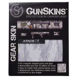 GunSkins 20×125cm シングルシート 保護フィルム ギアスキン [ A-TACS_ATX ] ガンスキンズ 保護ラップ ラッピングシート シール テープ 迷彩テープ Gear