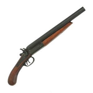 DENIX 古式銃 ダブルバレルピストル 1114   デニックス 古式抹消 レプリカ モデルガン アンティーク銃 西洋銃